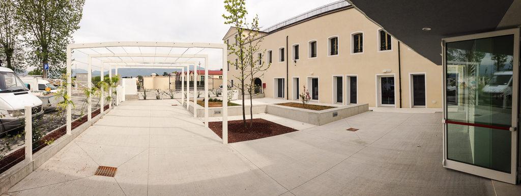 Ristrutturazione ed ampliamento del plesso scuole unificate di Crocetta del Montello